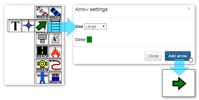 Adding an Arrow