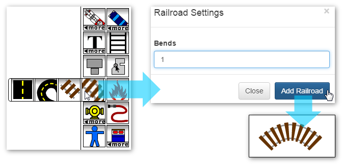 Adding a Railroad Bend