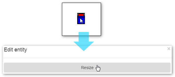Resizing a Bed Icon