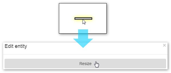 Resizing a Wall Icon