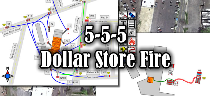 Fifth Alarm Dollar Store Fire