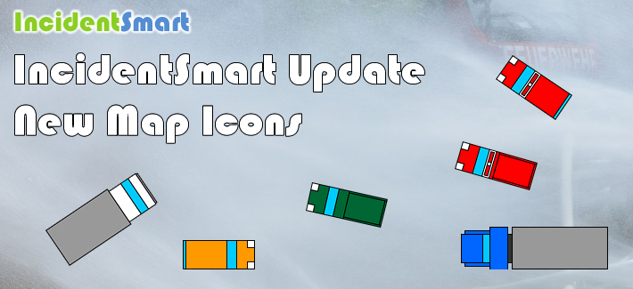 IncidentSmart Update: New Map Icons