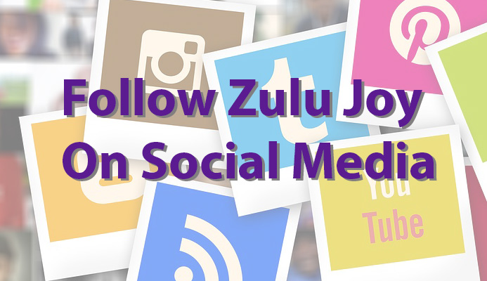 follow zulu joy on social media