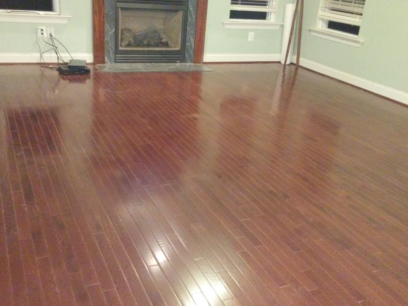 """Before and after image for 3/4"""" x 2-1/4"""" Cherry Oak"""