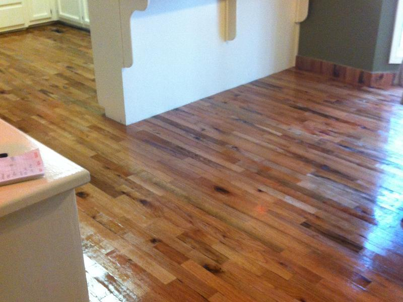 Before and after lumber liquidators for Rl colston flooring