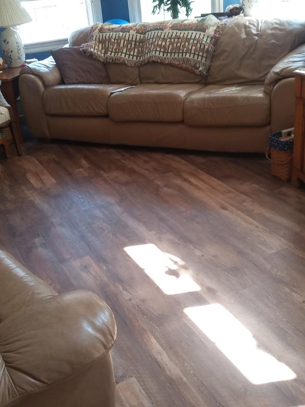 Tranquility Ultra 5mm Copper Ridge Oak Luxury Vinyl Plank