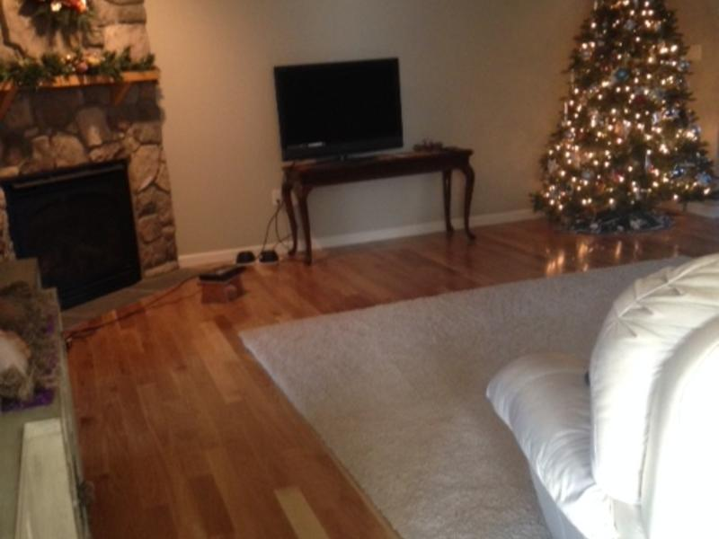 """Before and after image for 3/4"""" x 3-1/4"""" Natural White Oak"""