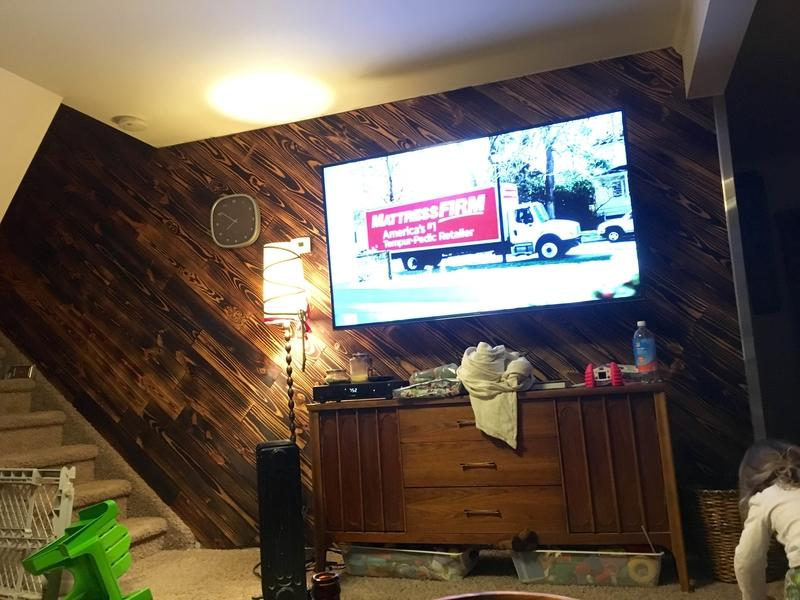 """Before and after image for 3/4"""" x 5""""  Southern Yellow Pine"""