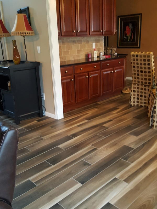 36 Quot X 6 Quot Brindle Wood Natural Porcelain Tile Avella