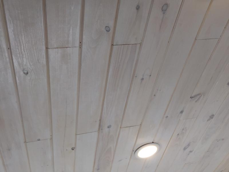 "Before and after image for 3/4"" x 5-1/8"" New England White Pine"