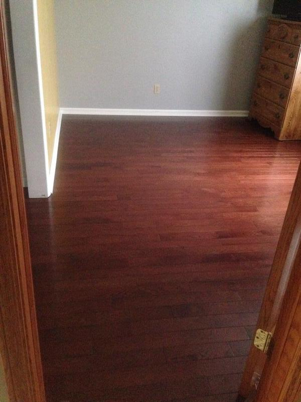 """Before and after image for 3/4"""" x 3-1/4"""" Cherry Oak"""