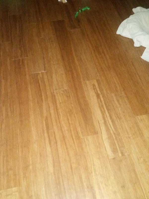 3 8 x 5 1 8 carbonized strand bamboo morning star xd for Morning star xd bamboo flooring