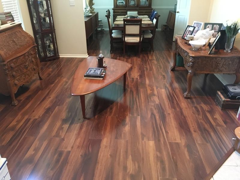 Before and after lumber liquidators for Hardwood floors katy tx