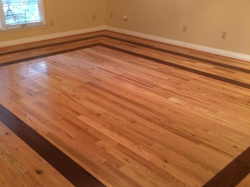 """Before and after image for 3/4"""" x 3-1/4"""" Natural Red Oak"""