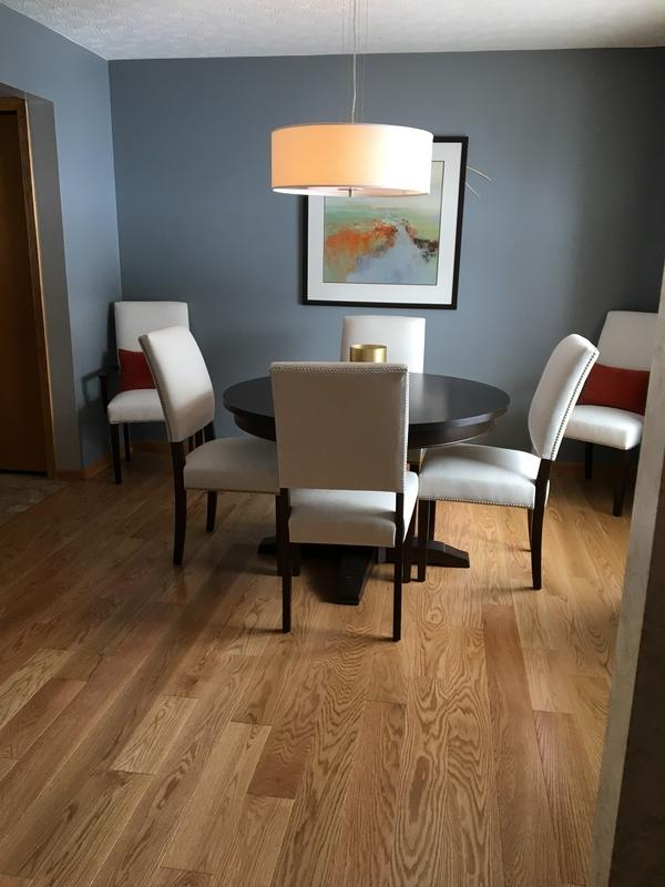 """Before and after image for 3/4"""" x 5"""" Select Red Oak"""
