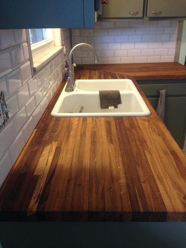 1 1 2 Quot X 25 Quot X 8 Builder Oak Countertop Williamsburg