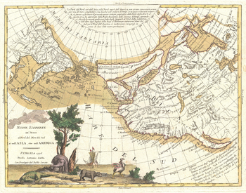 Zatta Map of California and the Western Parts of North America (1776)