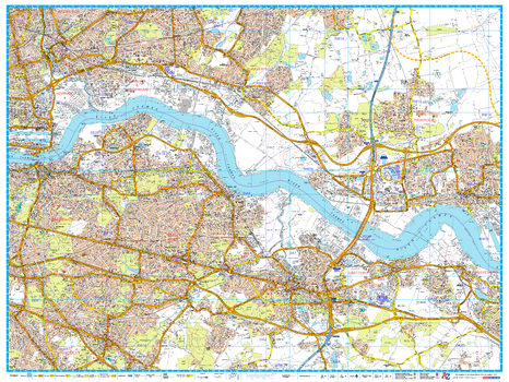 A-Z London Master Plan - East