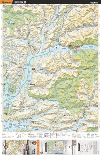 CCBC09 Rivers Inlet - Cariboo Chilcotin Coast BC Topo