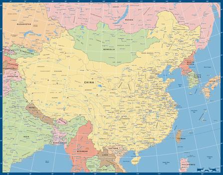 China Political Full Colour