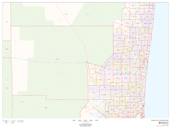 Broward County, Florida ZIP Codes