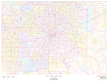 Dallas County, Texas ZIP Codes