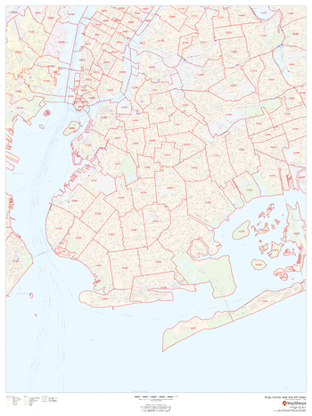 Kings County, New York ZIP Codes