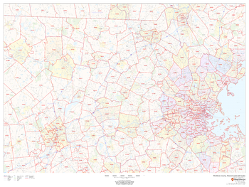 Middlesex County, Massachusetts ZIP Codes