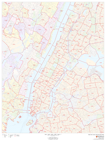 New York County, New York ZIP Codes