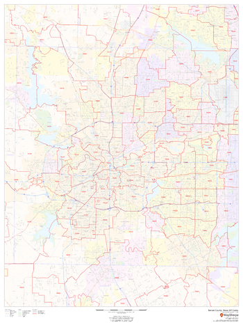 Tarrant County, Texas ZIP Codes