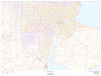 Wayne County, Michigan ZIP Codes