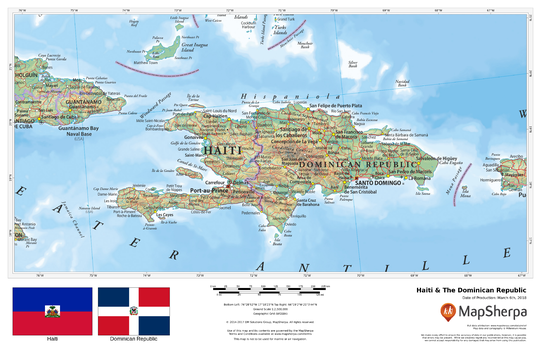 Haiti & The Dominican Republic