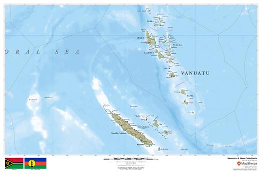 Vanuatu & New Caledonia