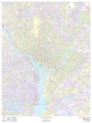 Washington, District of Columbia - Portrait