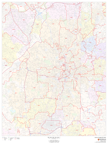 Atlanta, Georgia ZIP Codes