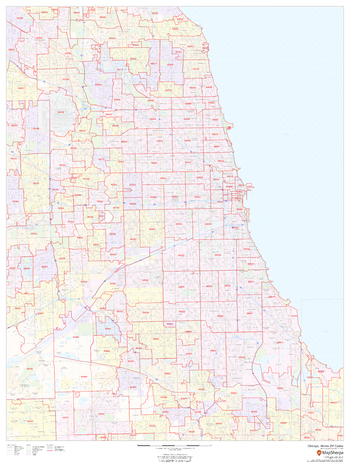 Chicago, Illinois ZIP Codes
