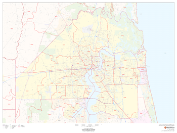 Jacksonville, Florida ZIP Codes