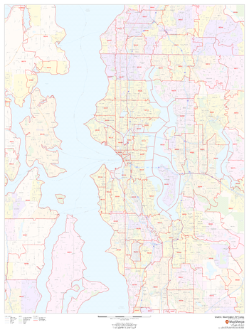 Seattle, Washington ZIP Codes