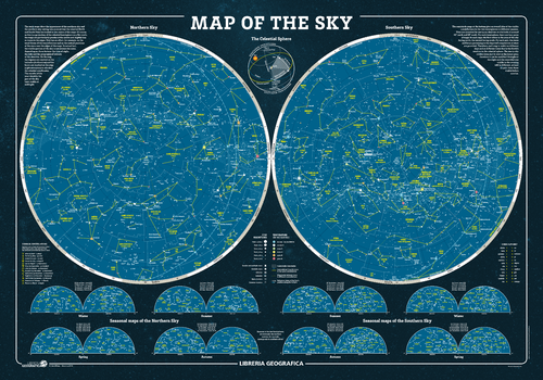 The Sky Wall Map