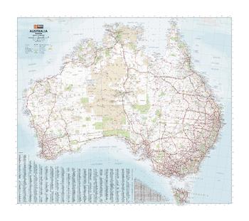 Australia Mega Map