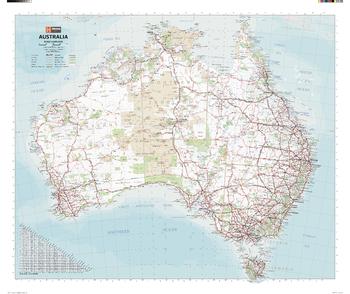 Australia Handy Map