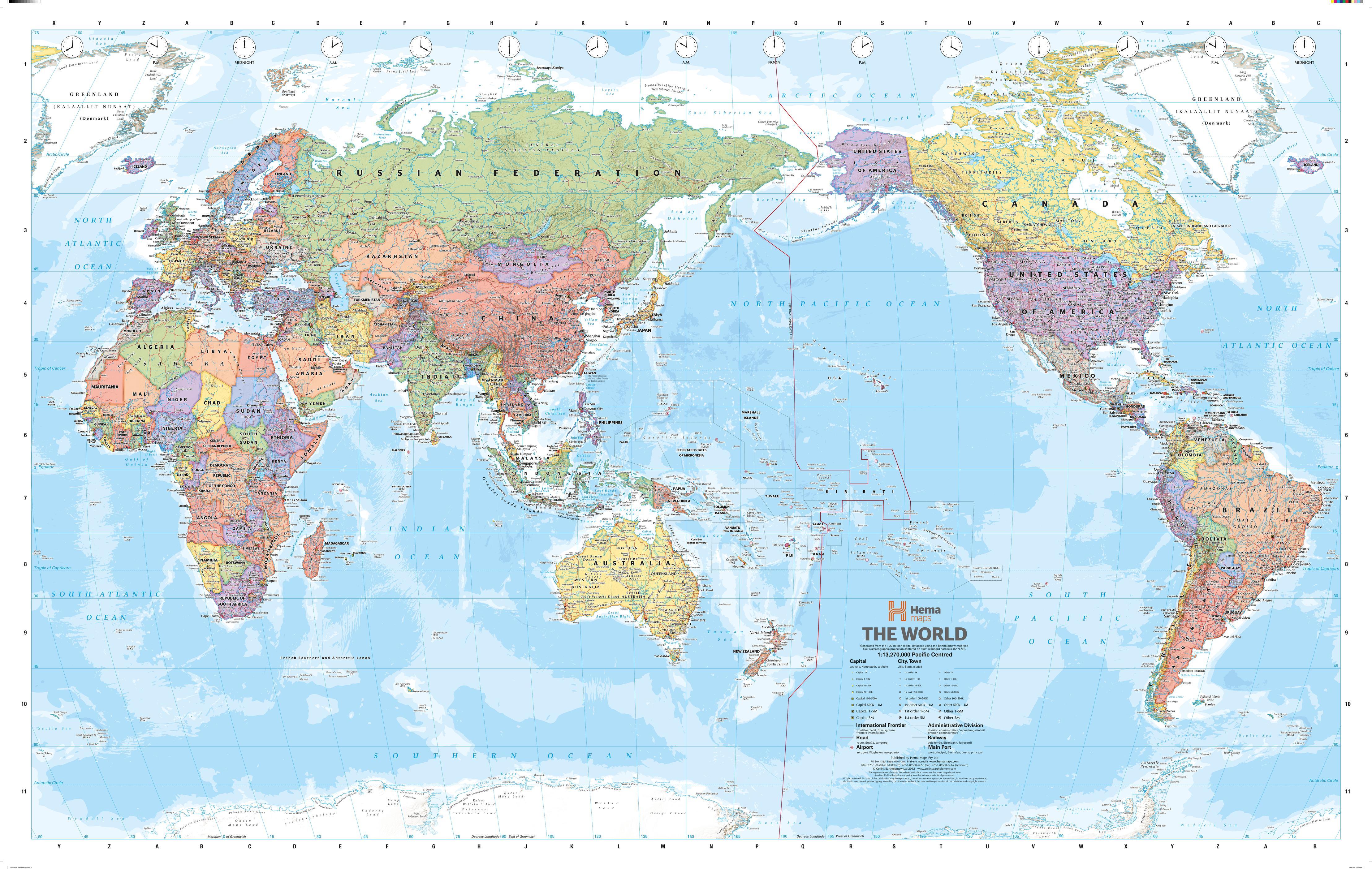 World Mega Map