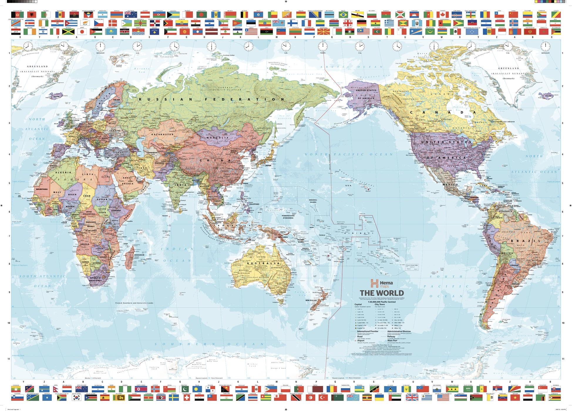 World & Flags