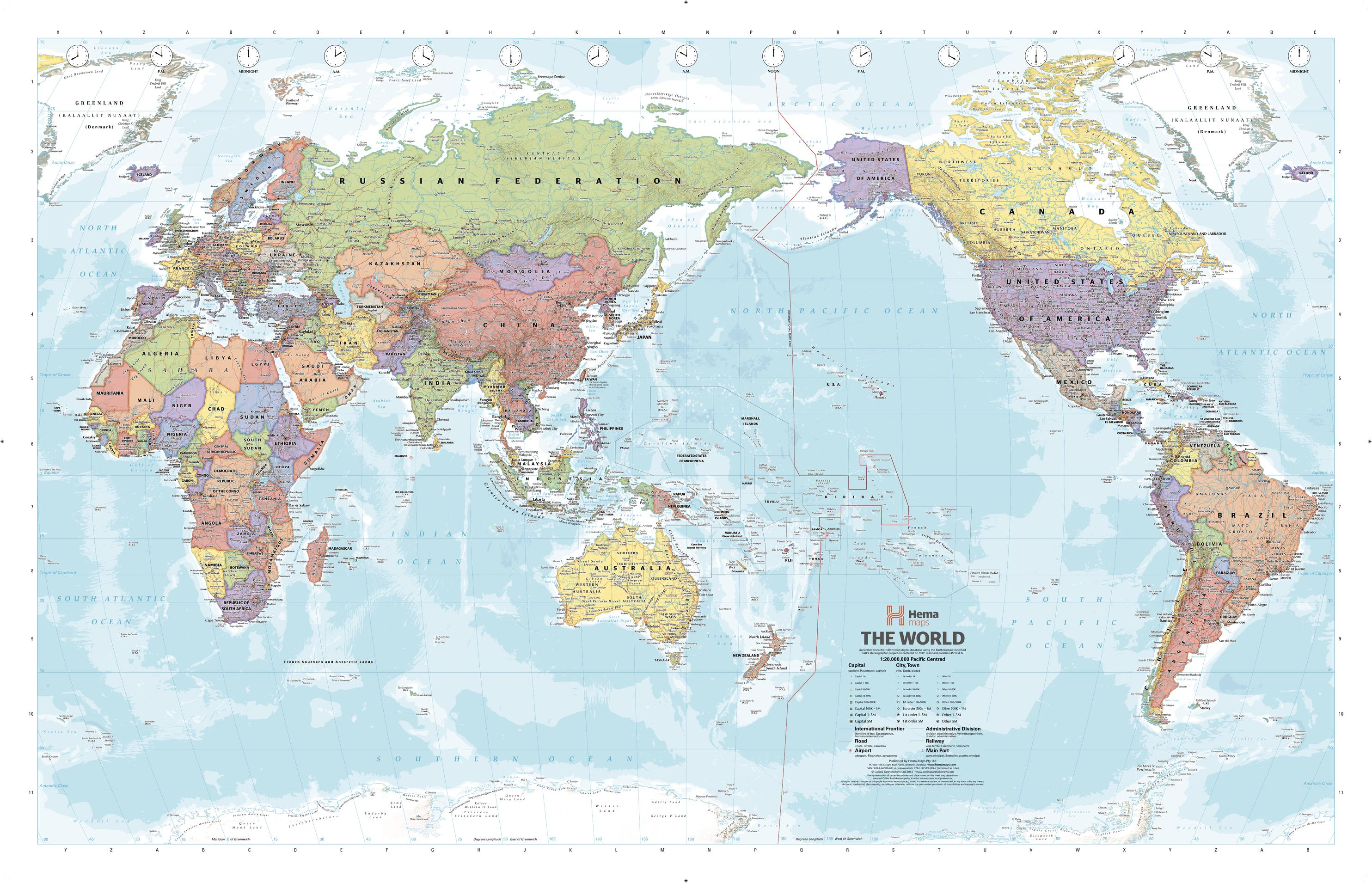 Pacific Centred World Political Supermap