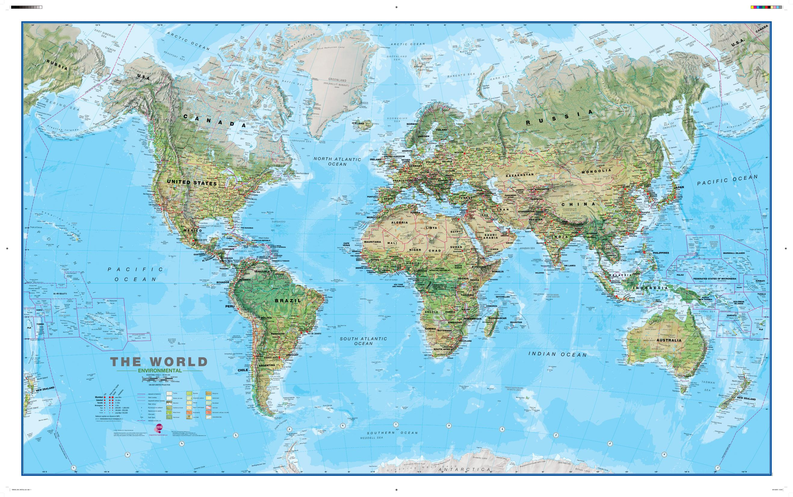 MapSherpa Maps International