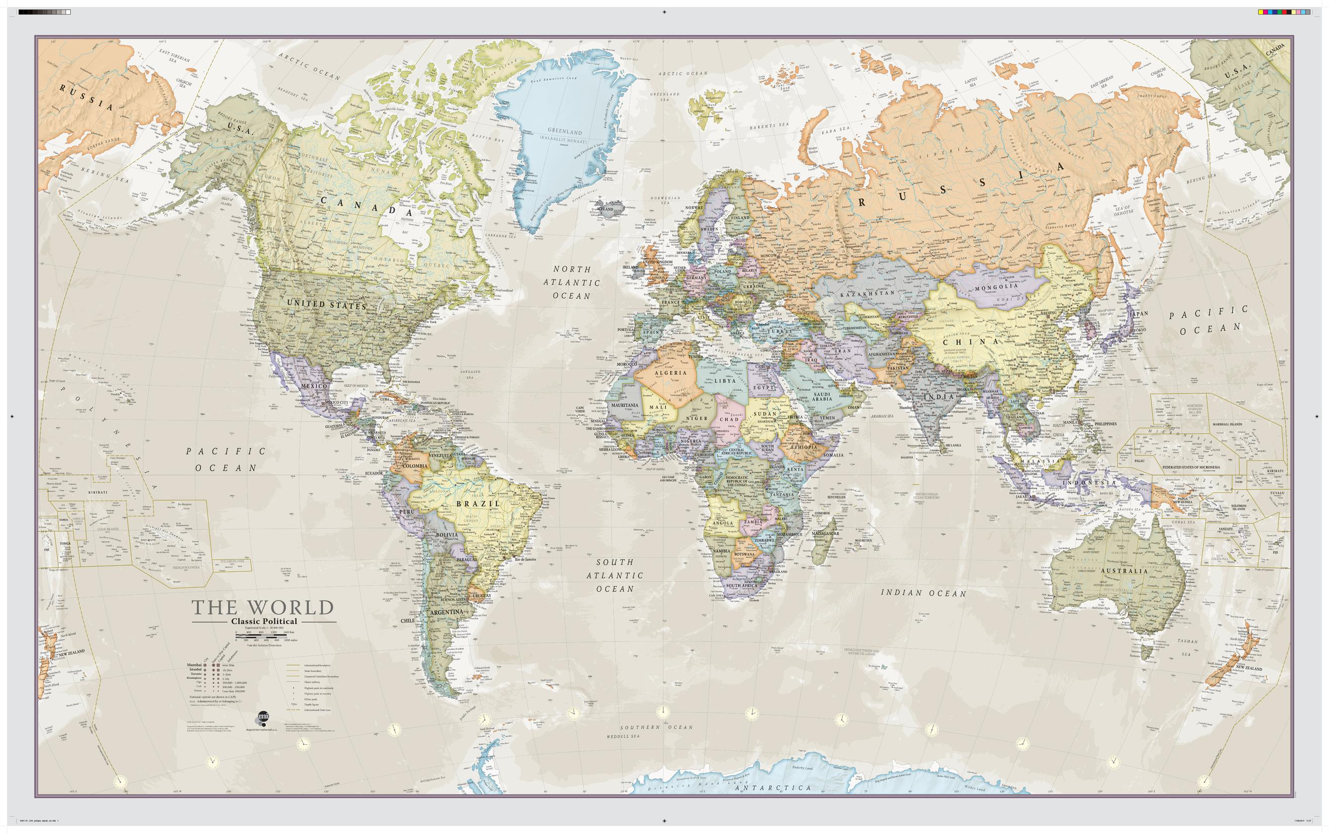 Mapsherpa maps international sample map environmental world wall map gumiabroncs