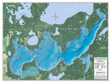 Lac Courte Oreilles Lake
