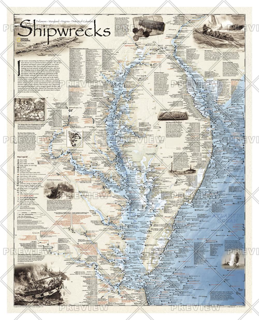 Shipwrecks of Delmarva