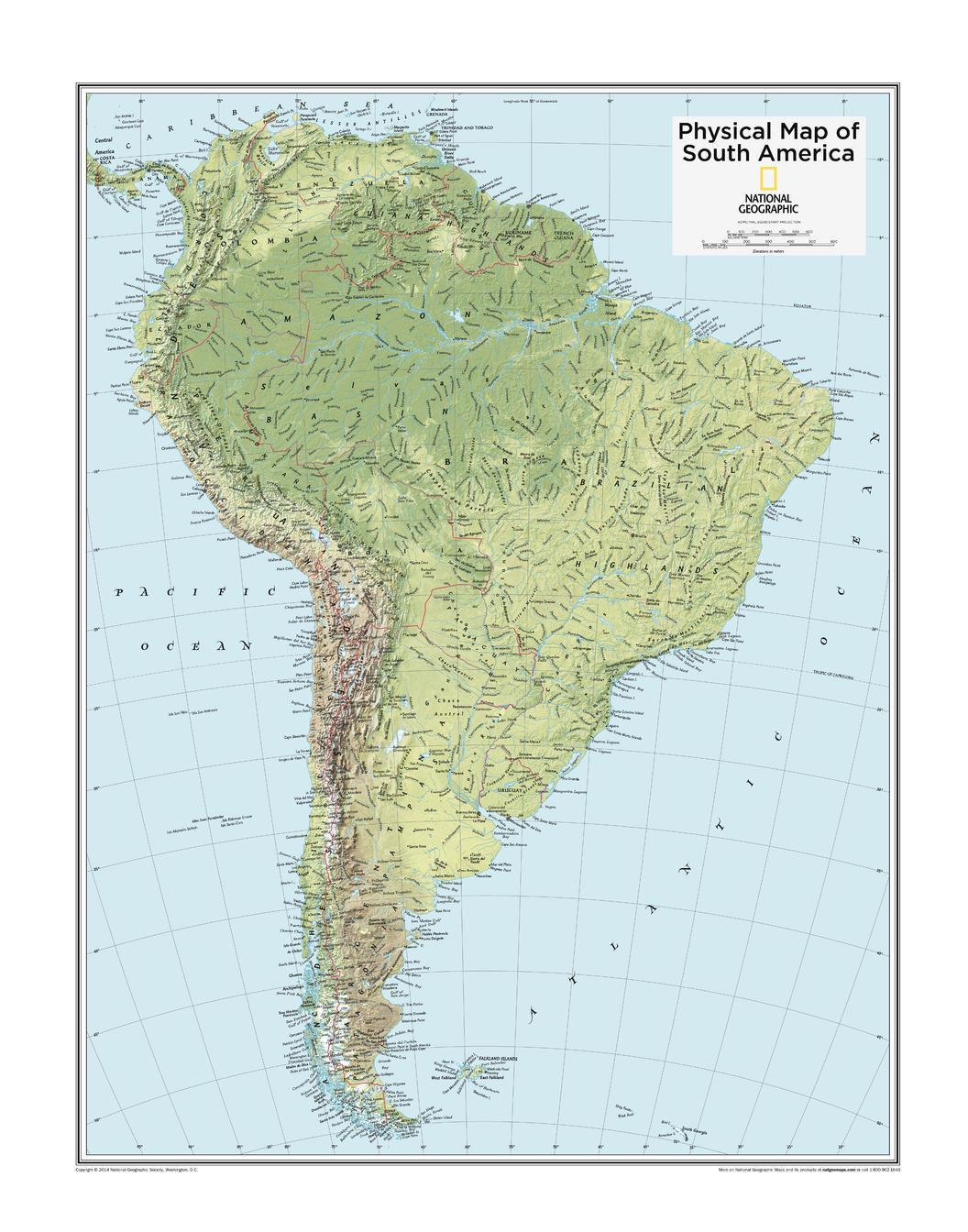 South America Physical