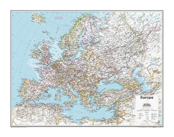 Europe Political - Atlas of the World, 10th Edition
